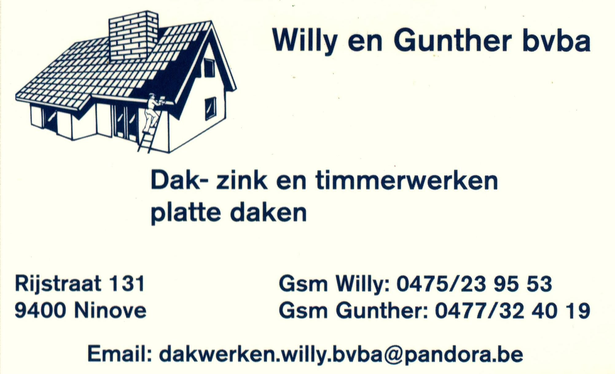 Logo Dakwerken Willy & Gunther